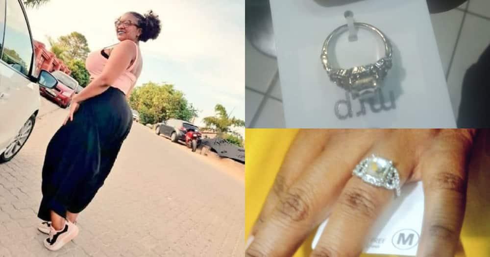 """Mzansi Ladies React Hilariously to R30 Engagement Ring: """"Awume Tuu"""""""