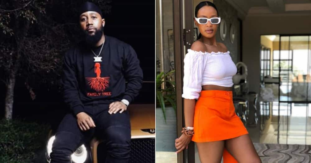 Cassper Nyovest is in awe of the phenominal mother Thobeka Majozi is