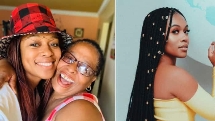Nomzamo Mbatha loses mother figure, heart shattered into a thousand pieces