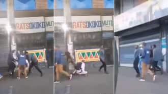 'Yoh': Video surfaces online of mugging in Joburg CBD, Mzansi left traumatised