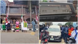 Breaking: Prophet TB Joshua finally laid to rest, photos & video emerge, many say their farewells