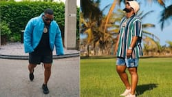 Cassper Nyovest gets silly in video, says Thobeka is lucky to be dating him