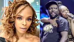 Unathi expresses mad love for her long-time friend and comrade Zola 7
