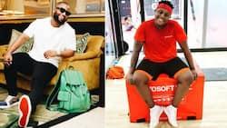 'The Braai Show' Bromance: Cassper Nyovest and Carpo are Mzansi's favourite besties