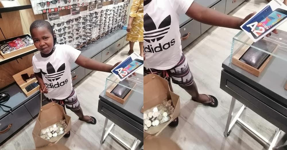 Kid leaves locals impressed after saving pocket money