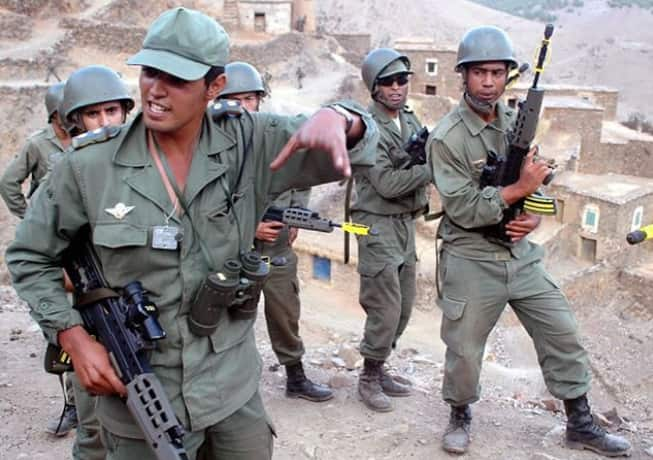 Morocco army