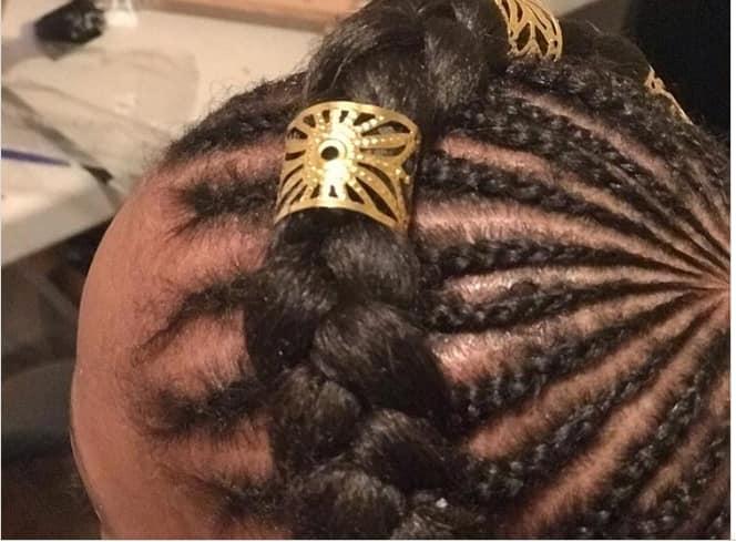 crowned African braids hairstyles 2021