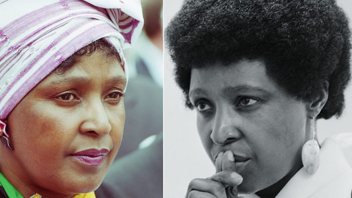 Photo shows Ma Winnie carrying water in high heels, SA has mixed reactions