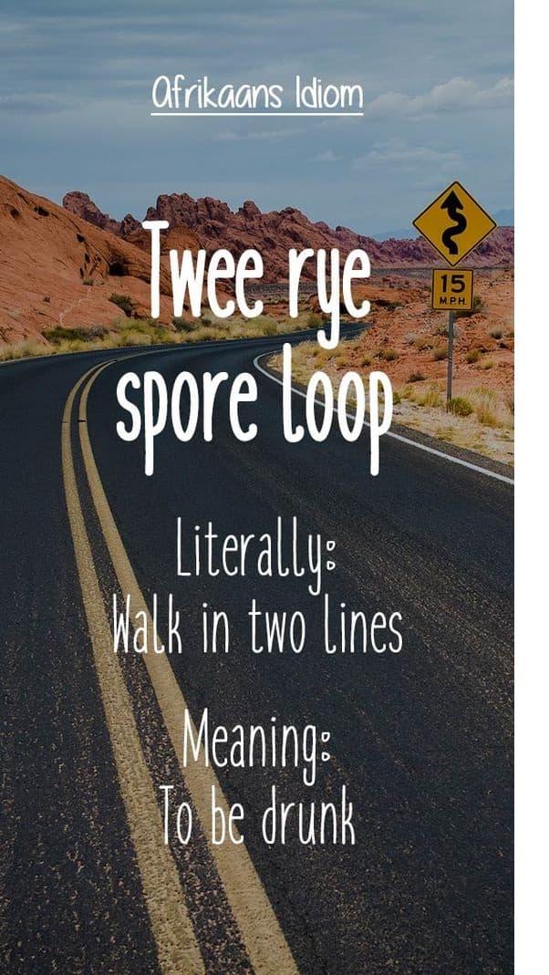 Afrikaanse idiome