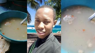 """""""Dishwater"""": Eish, Mzansi compares man's homemade soup to dirty water"""
