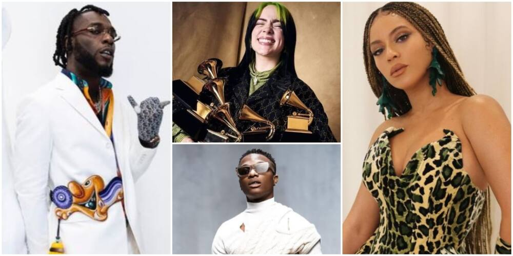 Grammy 2021: Full list of winners as Burna Boy, Beyonce and other stars steal the show