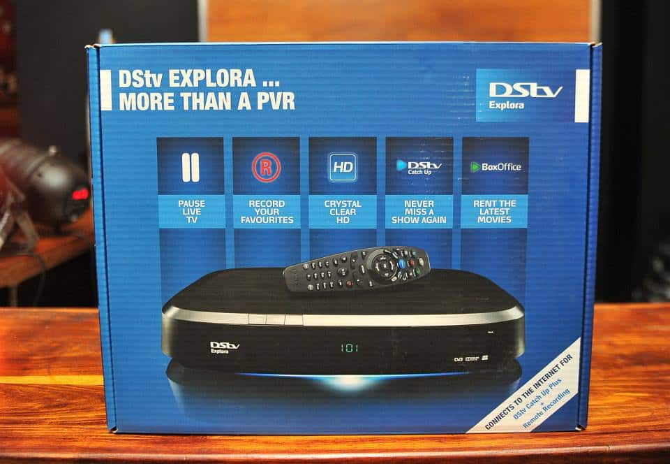 How to connect DSTV extra view cables