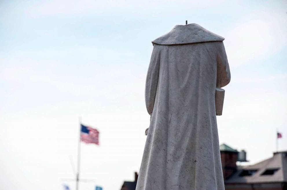 Christopher Columbus statue debate rises as controversial statues fall across the country