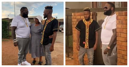 Kwesta introduced superstar Rick Ross to his gogo and the eKasi life
