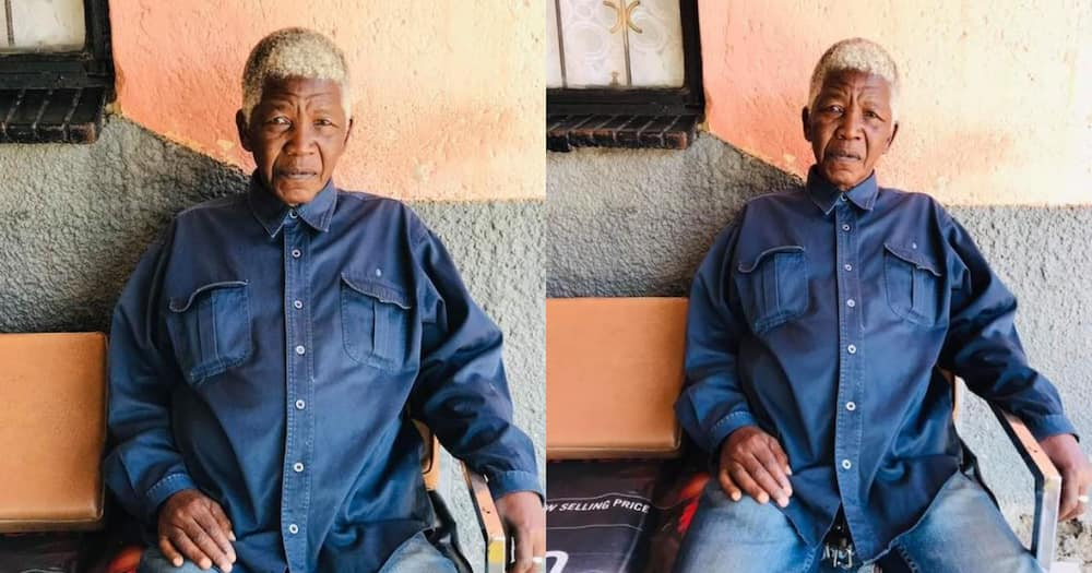 """""""It's Him"""": Mzansi Reacts to Snaps Of Uncanny Nelson Mandela Lookalike"""