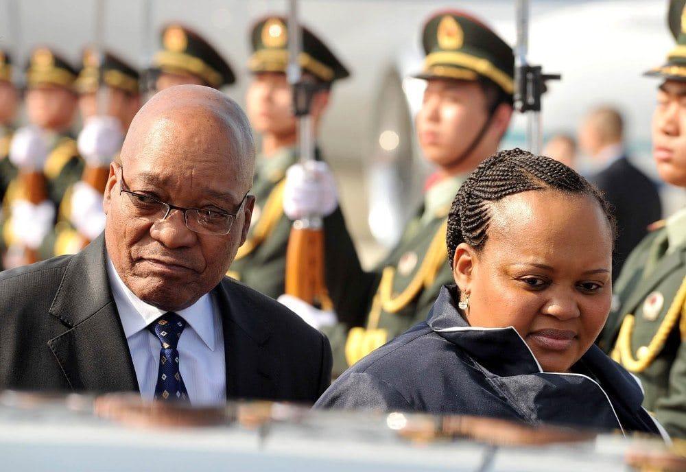 all Jacob Zuma's wives