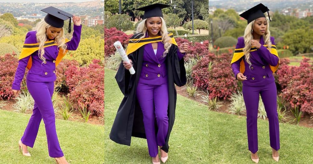 Graduate, lady espoir, hope