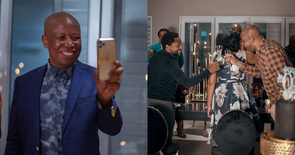 Juju Turns 40: EFF Shares Snippet into Malema's Birthday Celebration