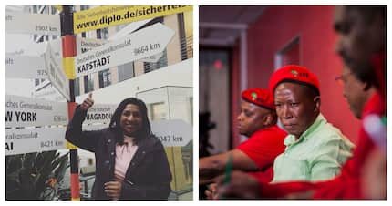 Munusamy blocks 'abusive' Malema after he took her on at a rally