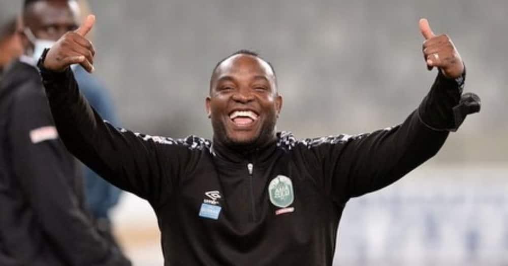AmaZulu coach Benni McCarthy says he is very grateful to bag the DStv Premiership Coach of the Season Award. image: @BenniMac17/Instagram