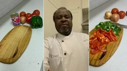 Minister Tito Mboweni prepares to cook up a storm, but disgruntled Mzansi is unimpressed