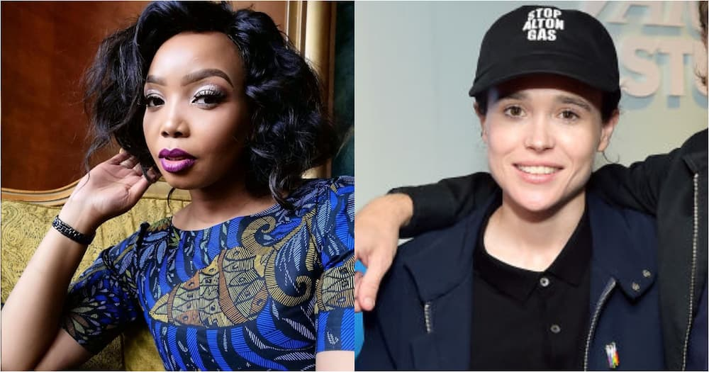 Thembisa Mdoda-Nxumalo applauds Elliot Page coming out as transgender