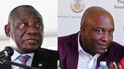 """Ramaphosa calls for murder accused Mpumalanga MEC to step aside: """"The motherland is on her knees"""""""