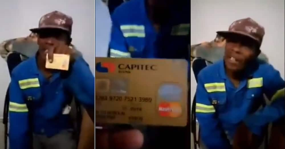 Video Showing Hilarious Debate Over Expired Bank Card Has Sa in Stitches