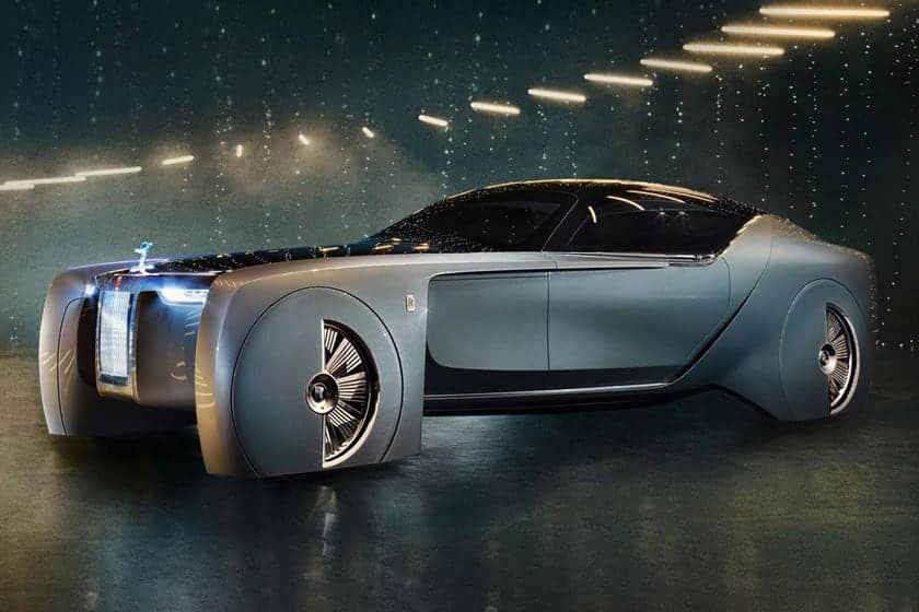 First-Ever Electric Rolls-Royce Gets Retro-Inspired Name