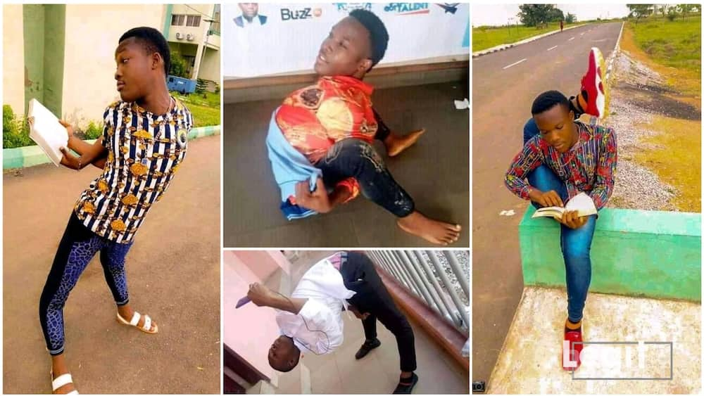 The Nigerian student said that he has not damaged any part of his boy since he started.
