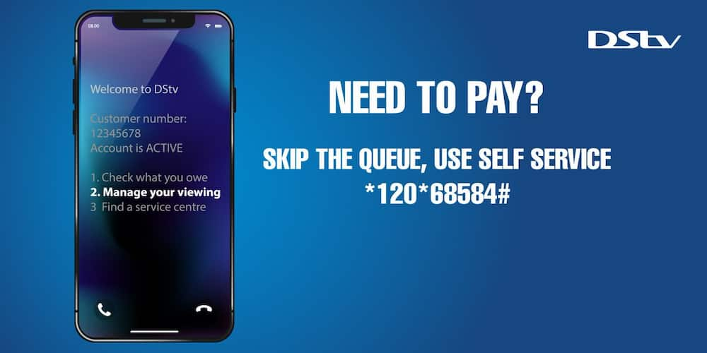 DStv payment using cellphone banking