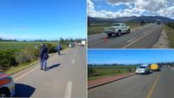 """Criminals have declared war"": SAPS shutdown robbery at petrol station, SA proud"