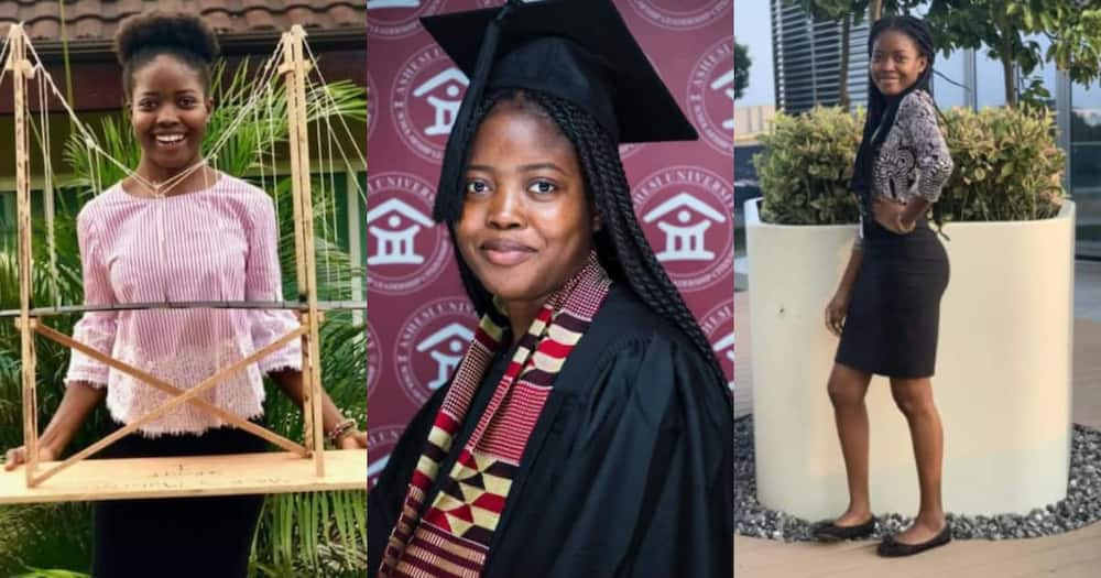 Brilliant student graduates with distinction as she bags degree in Mechanical Engineering from Ashesi