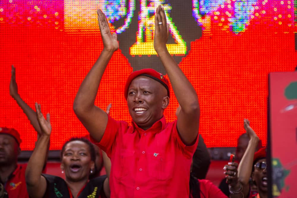 Julius Malema shared a special message with Mzansi as the EFF turns 7