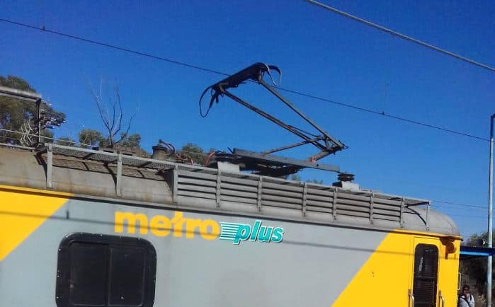 Video of a man swinging on a power line South Africa can't deal