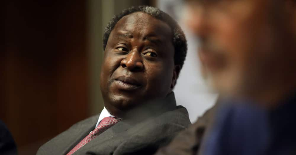 Tito Mboweni Claps Back at EFF After Party Disrupts His Official Swearing In
