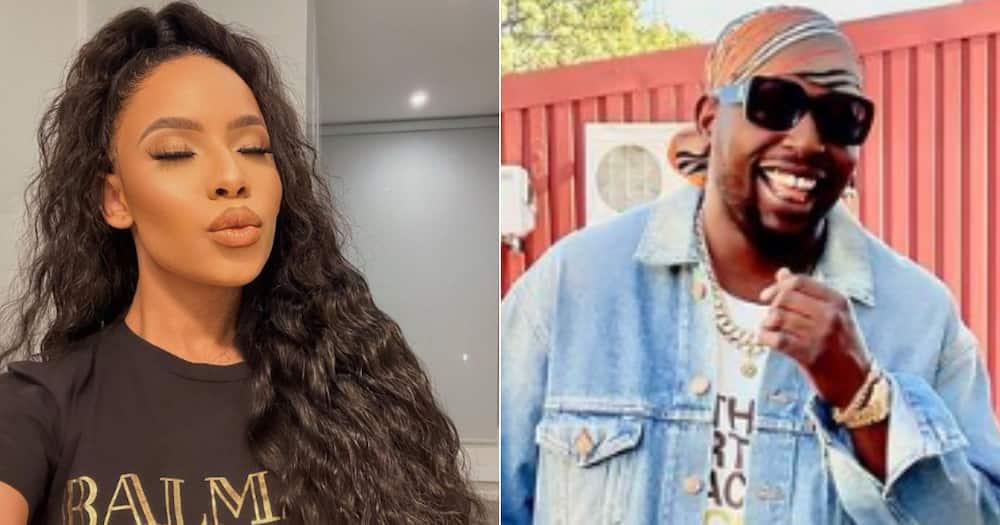 Thuli Phongolo, DJ Maphorisa, Relationship, Rumours, Denied, Twitter