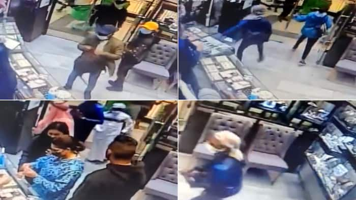 Haibo: Video shows robbery at KZN jeweller, SA stunned as guard fatally wounded