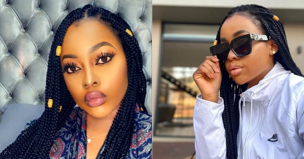 Nsovo Mashaba reportedly denies fathering Omuhle Gela's child