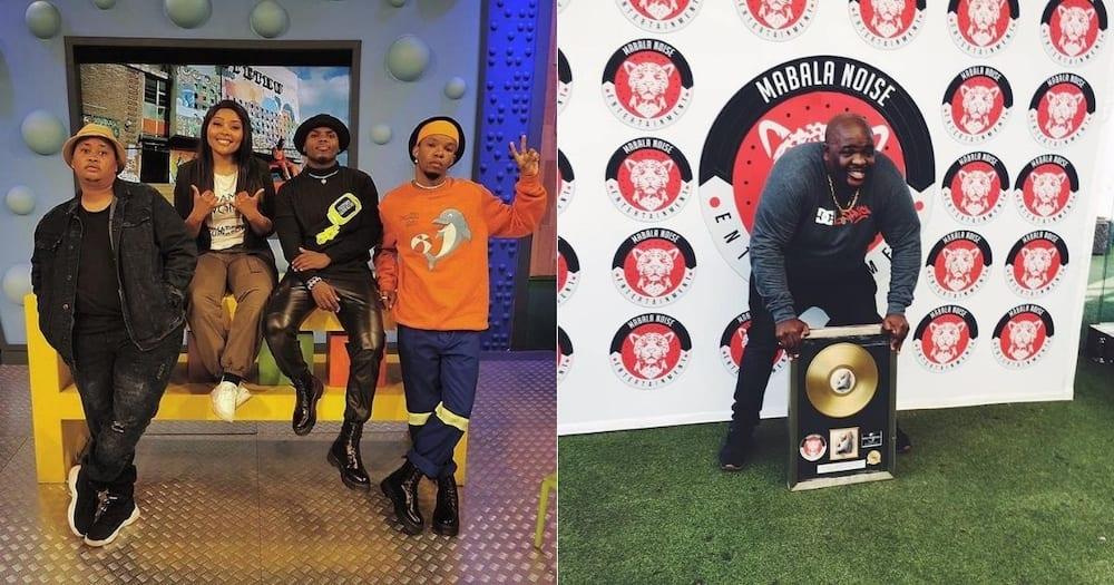 Ambitiouz Entertainment and Mabala Noise engaged in epic twar