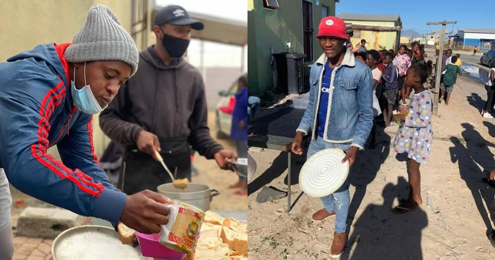Brothers For Life have fed over 800 children & 200 elderly with their initiative