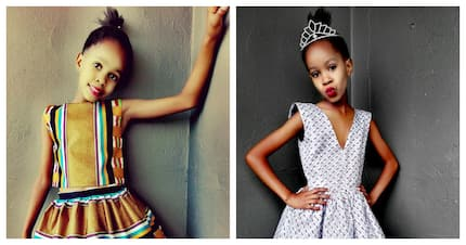 Meet 10 year old Enhle Babes – there's a new slay queen in town