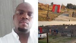 Halala: Tuckshop owner posts pic of how it started vs how it's going, SA inspired