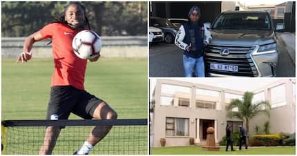 Siphiwe Tshabalala receives sweet letter from super fan all the way from China