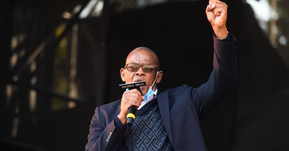 Suspended NC SG Ace Magashule has received the dates for him to appear at the Joburg High Court. Image: Deaan Vivier/Beeld/Gallo Images via Getty Images