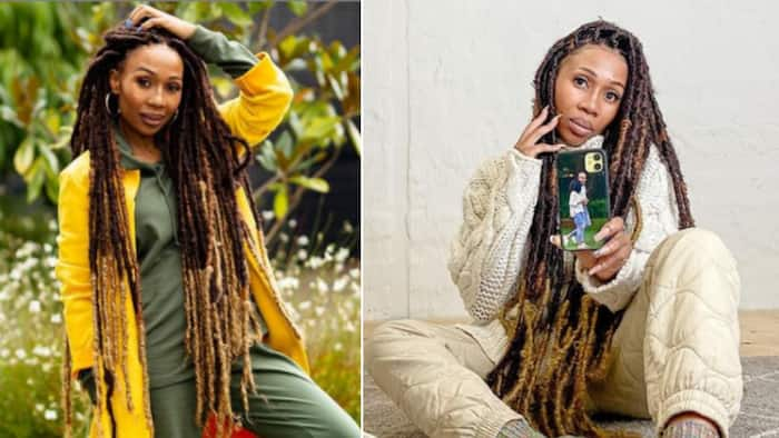 Dineo Ranaka shares 1st snap of baby, people of Mzansi gush over her glow