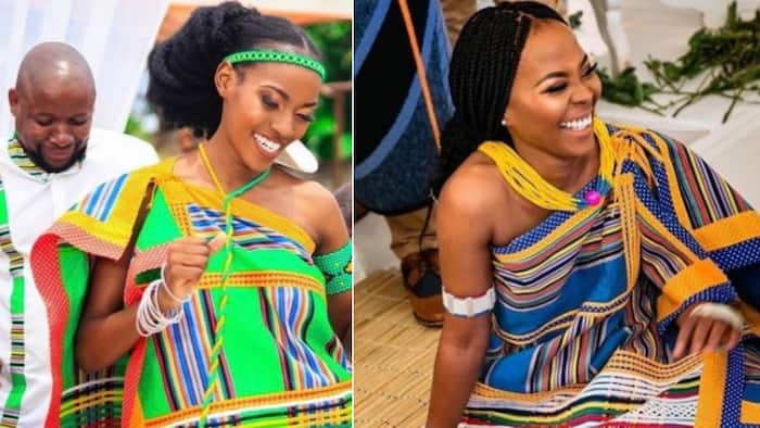Vision of bride's stunning traditional wedding brought to life in dazzling fashion