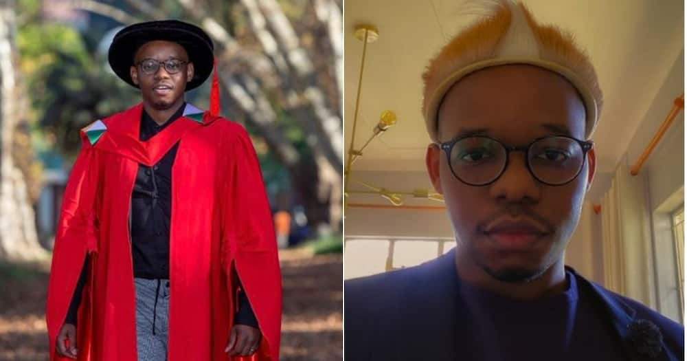 A KwaZulu-Natal man is celebrating his success after bagging a qualification to become a doctor. Image: @Dr_Ngidi/Twitter