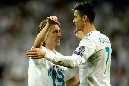 Modric reveals Real Madrid players bet Ronaldo will not be leaving the club