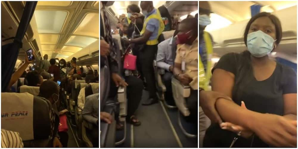 Lady who didn't want her expensive handbag put on the floor prevents plane from flying (video)